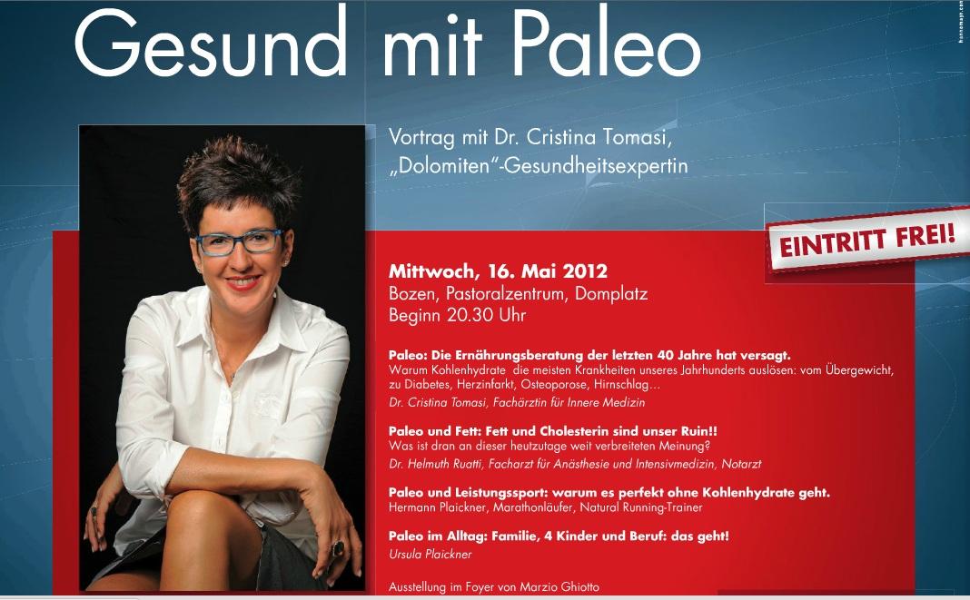 Gesund mit Paleo - Dr. Cristina Tomasi