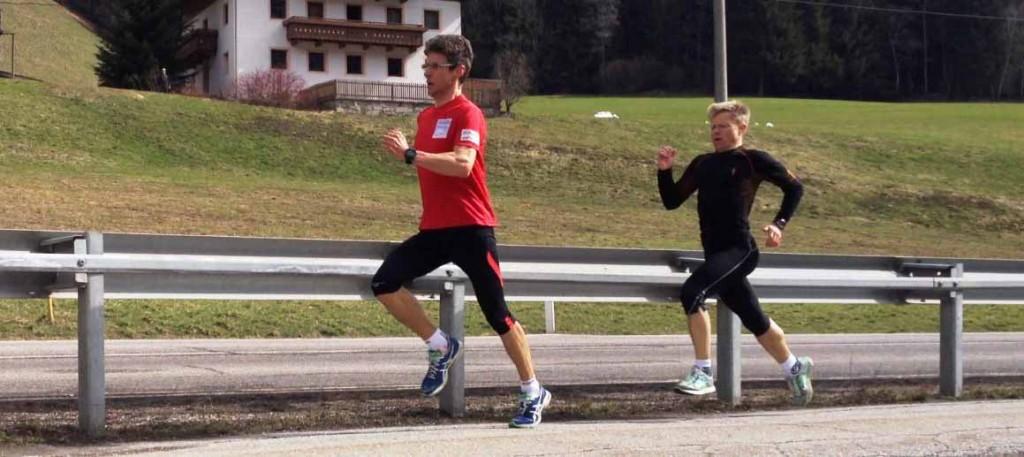 Marathon Trainingswoche Südtirol mit Hermann Plaickner