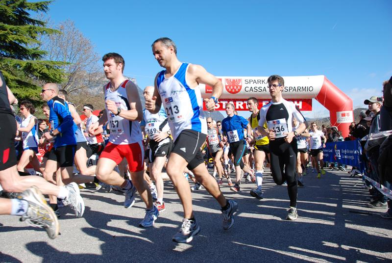 Kalterer See Halbmarathon-2010-Start