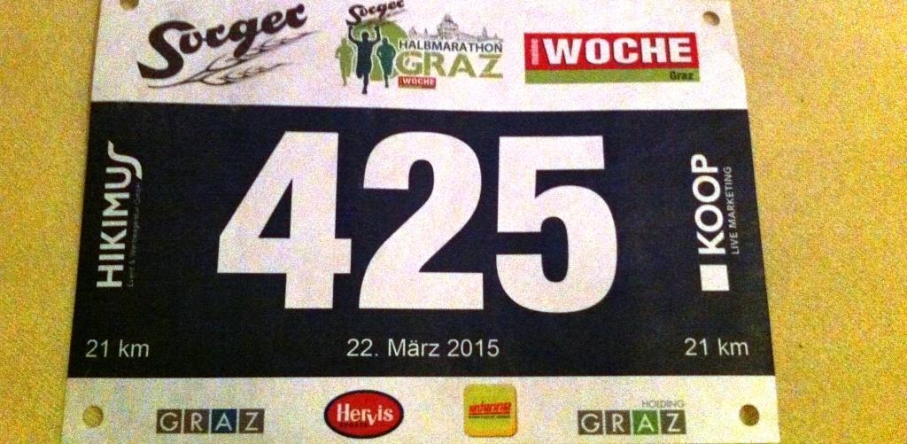 Halbmarathon Graz Hermann Plaickner 2015
