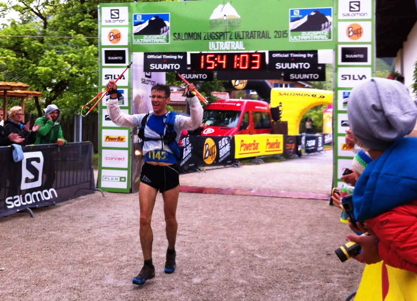 Hermann Plaickner - Sieger beim Supertrail XL - Kategorie Master Men